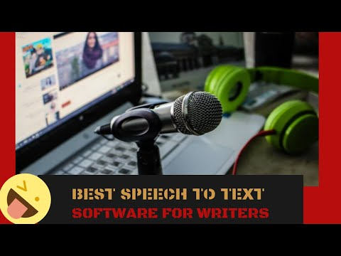Best Speech To Text Free Software For Writers
