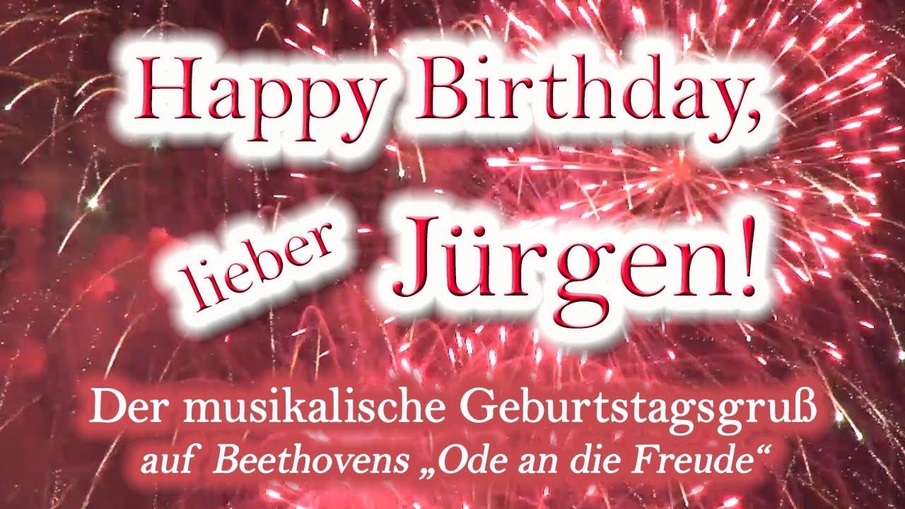 Alles Gute Zum Geburtstag Jürgen