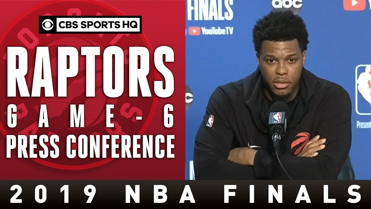 Toronto Raptors Game 6 Press Conference | 2109 NBA Finals | CBS Sports HQ