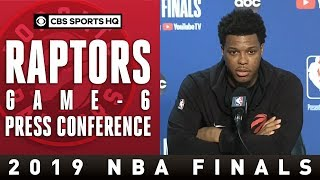 Download Toronto Raptors Game 6 Press Conference | 2109 NBA Finals | CBS Sports HQ Mp3 and Videos