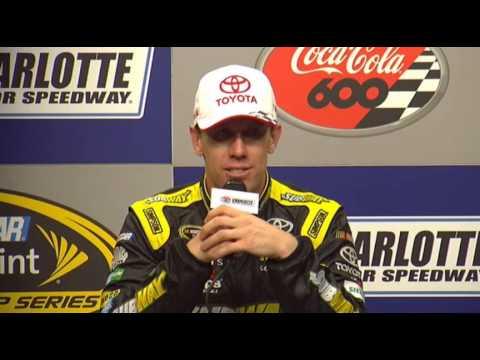 Let's Talk Racing Charlotte NSCS Coca-Cola 600 winner Carl Edwards, Darian Grubb, & Joe Gibbs