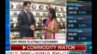 Mr. Rajiv Popley expresses his views on the jewellery buying trends on Bloomberg Tv