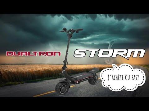Dualtron Storm, unboxing, découverte, commentaires