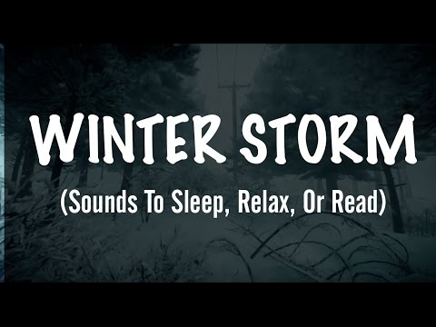 sounds of an extreme winter storm sounds to sleep relax or read youtube. Black Bedroom Furniture Sets. Home Design Ideas