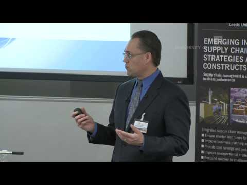 Global Trade and Global Supply Chains: Dr Tomas Hult, guest talk at Leeds University Business School