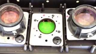 Free fresnel lens, whats inside a hitachi projection TV, look and see whats inside.