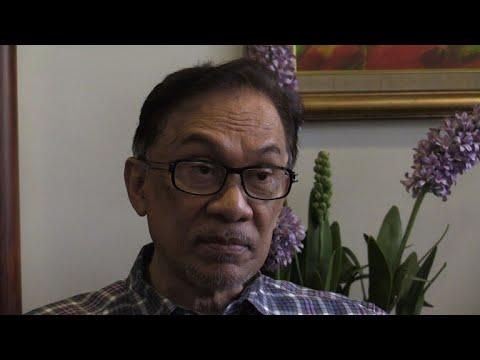 AFPTV interview with Malaysia's Anwar Ibrahim