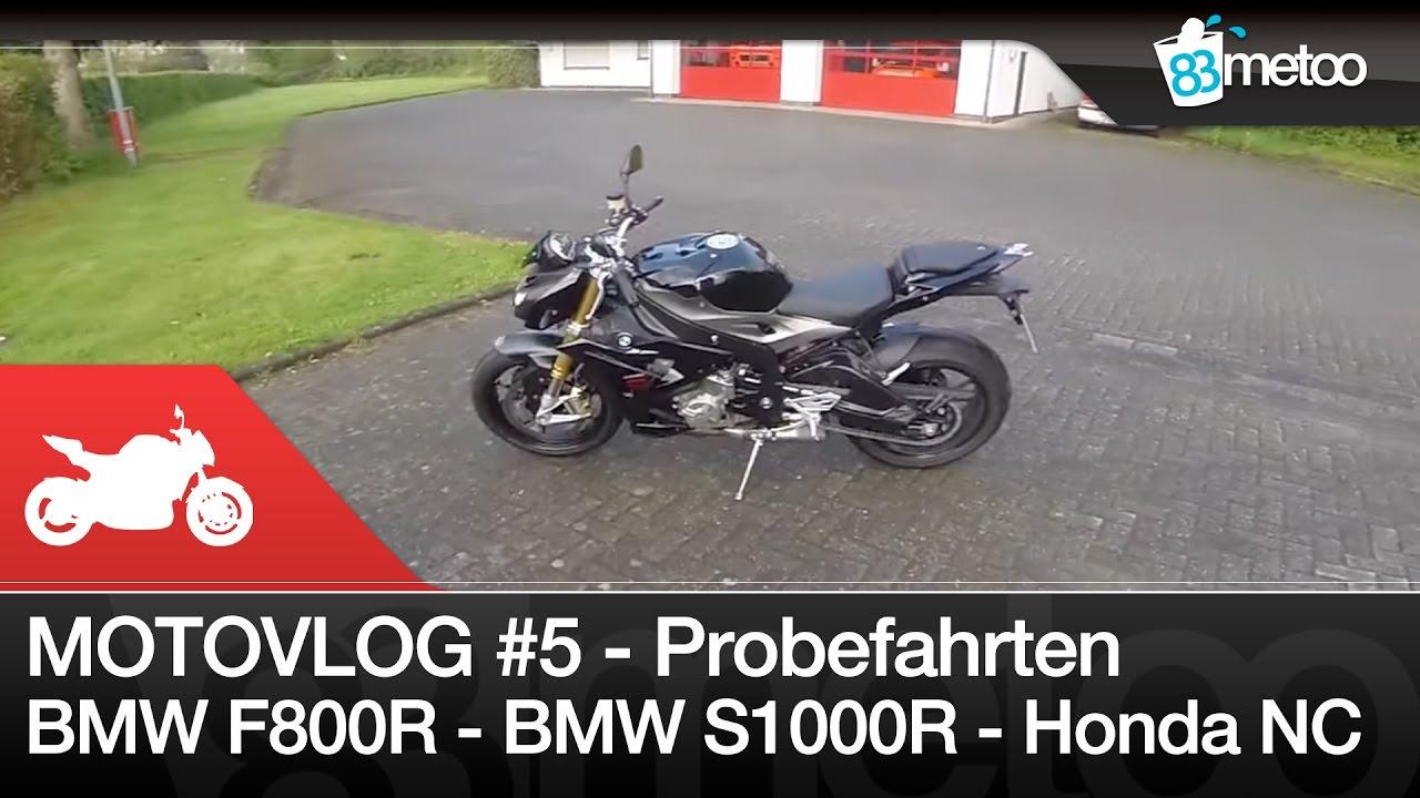 MotoVlog 5 Motorrad Probefahrten Mit BMW F800R