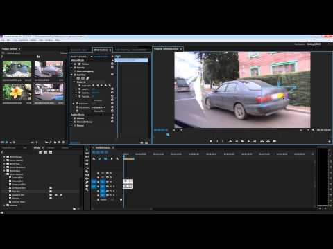Adobe Premiere Pro CC 2014:как закрасить номер автомобиля