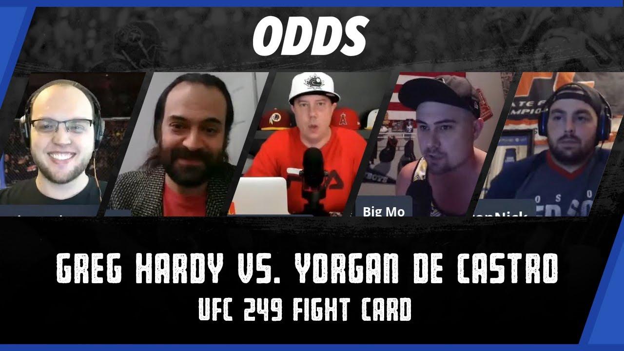 UFC 249: Greg Hardy vs. Yorgan De Castro odds, picks and best bets