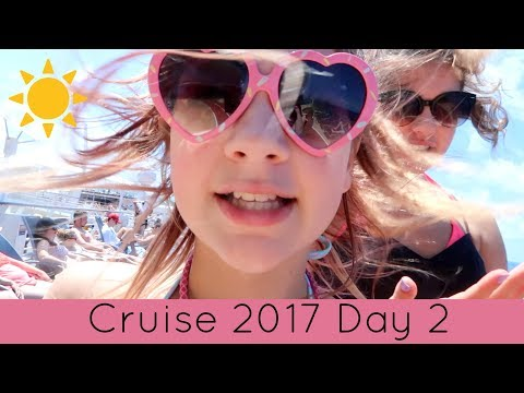 Cruise Vlog Day 2 | Bingo, Show, French Fries & Getting in Trouble!
