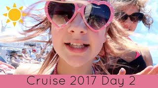 Cruise Vlog Day 2 | Bingo, a Show, French Fries & Getting in Trouble!