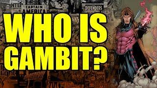 Marvel Comics: Who is Gambit?