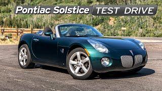 Pontiac Solstice Review - Cheap Sports Car - GM Builds a Miata -Test Drive