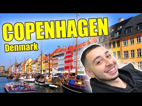 Let's Travel DENMARK - Visit Copenhagen Vlog The First Day Food Guide
