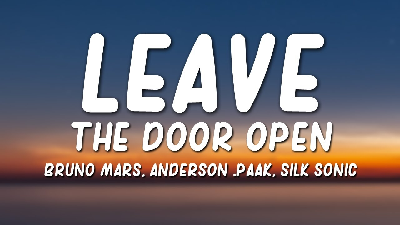Bruno Mars, Anderson .Paak & Silk Sonic – Leave The Door Open Lyrics
