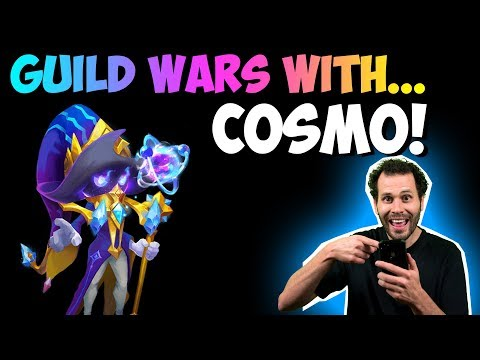 Cosmo In Guild Wars SMASHING Bases Castle Clash