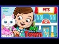 Fun Animal Care: Care For Puppies, Kittens, Doctor Vet, Bath, Dress Up - My Town Pets Kids Games