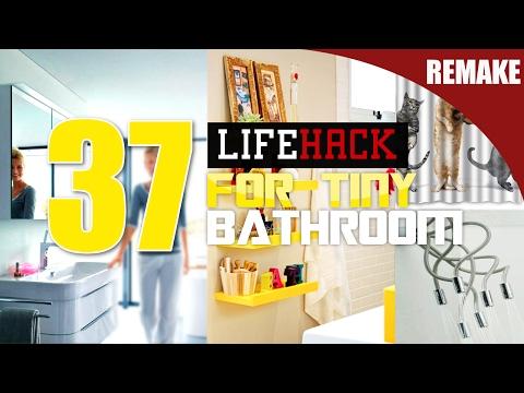 37 Small Bathroom makeover ideas [Remake]