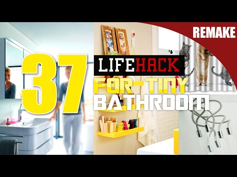 37 Small Bathroom makeover ideas [Remake]