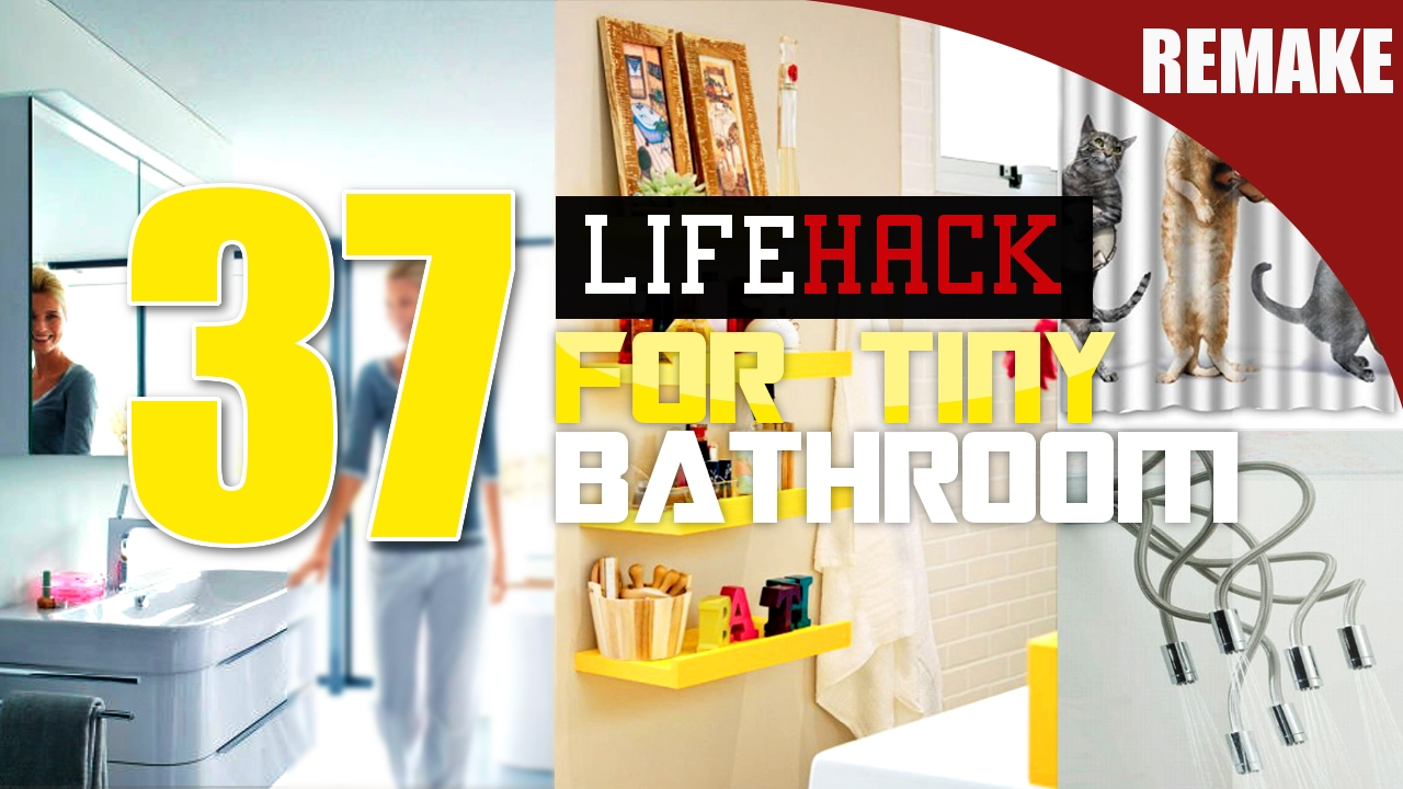 Small Bathroom Makeover Ideas Remake YouTube - Bathroom remake