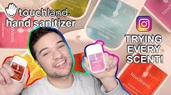 Trying Instagram Products! Touchland Hand Sanitizer Review (Every Scent)