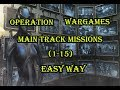 War Commander Operation WARGAMES Main Track Missions (1-15) Easy Way