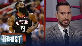 James Harden is the very definition of an underrated player - Nick Wright | NBA | FIRST THINGS FIRST