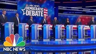 Lightning round: What Issue Will You Tackle First As President? | NBC News