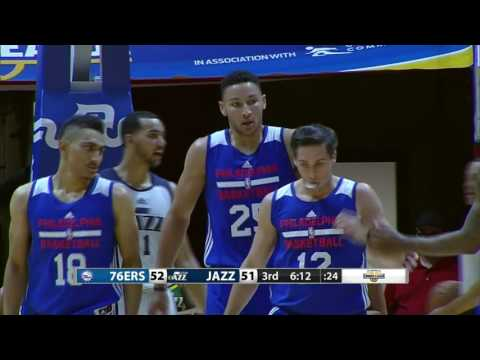 Philadelphia 76ers vs Utah Jazz   July 7, 2016   NBA Utah Summer League 2016