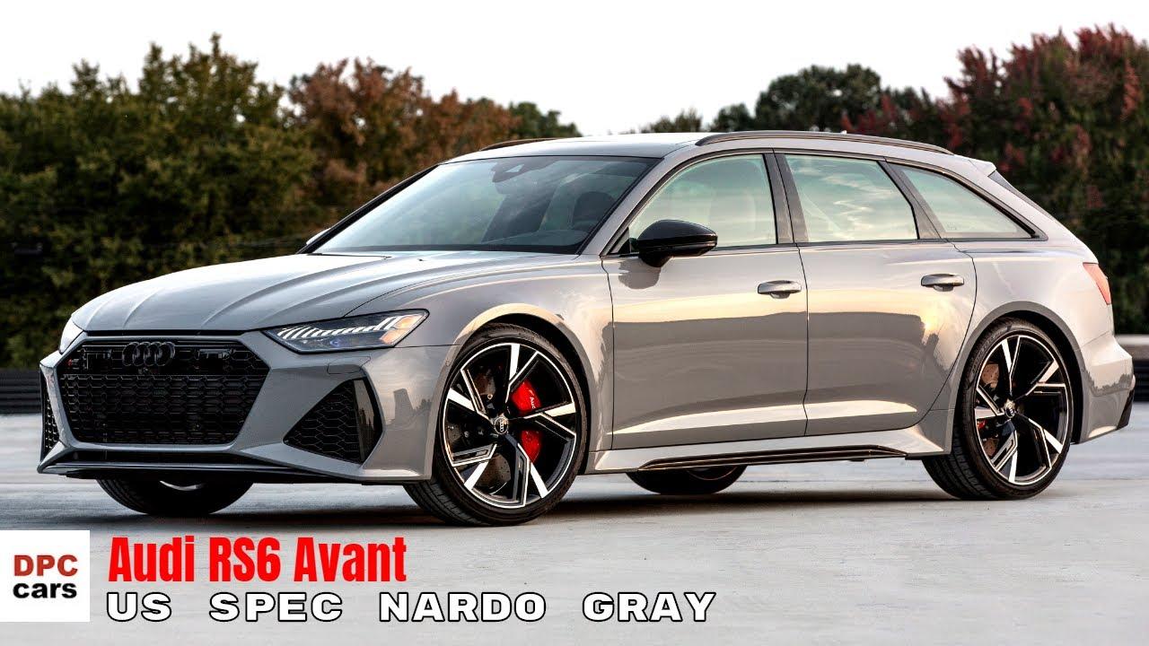 US Spec 2021 Audi RS6 Avant in Nardo Gray - YouTube