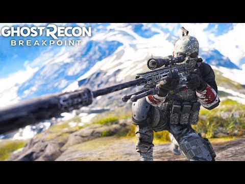 Ghost Recon Breakpoint OVERPOWERED WOLVES! Ghost Recon Breakpoint Free Roam