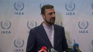 Iran defends enrichment findings at UN nuclear watchdog meeting