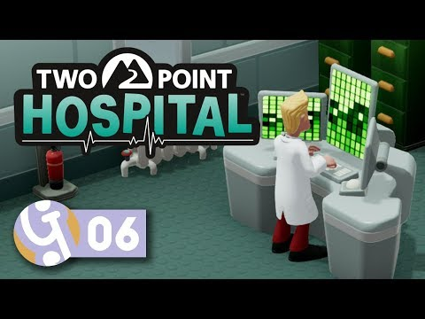 💉 Better Living Through Research! | Let's Play Two Point Hospital Ep. 6