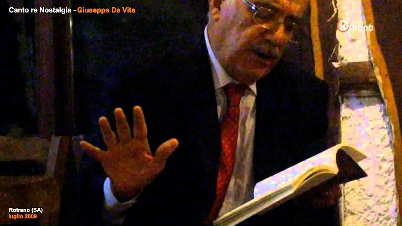Canto re Nostalgia   Giuseppe De Vita