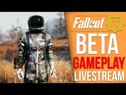 Fallout 76 BETA Playthrough - Part 3 (Fallout 76 Livestream)