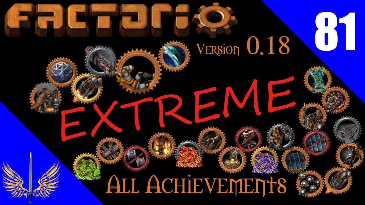 Factorio - All Achievement Run Extreme - Deathworld  - Episode 81