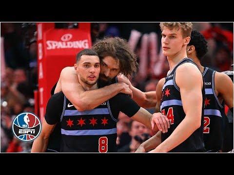 Zach LaVine closes out dramatic Bulls vs. 76ers matchup   NBA Highlight thumbnail