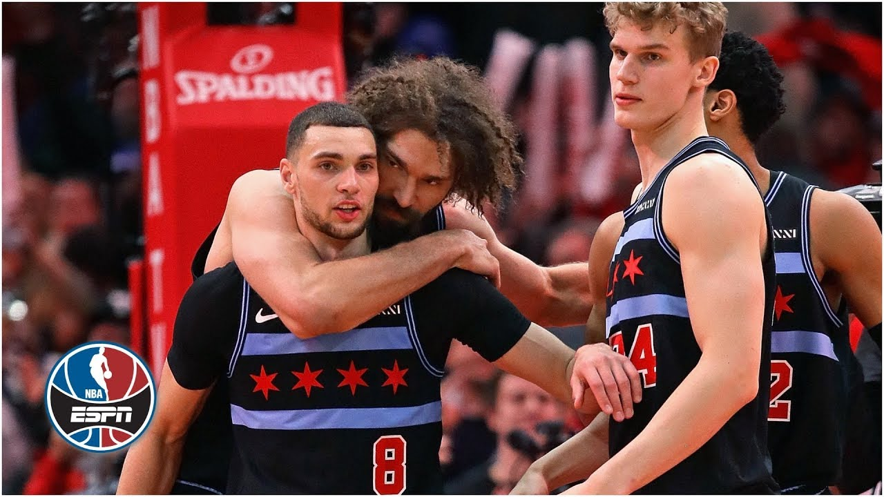 Chicago Bulls star Zach LaVine scores 39 points in first half of loss ...