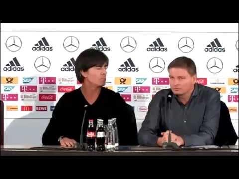 DFB Pressekonferenz – Joachim Löw & Oliver Bierhoff – 16/11/2015