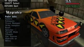Gta San Andreas • En İyi Modifiye • Olan Araba..!
