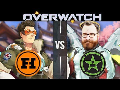 OVERWATCH VS ACHIEVEMENT HUNTER - Overwatch Gameplay
