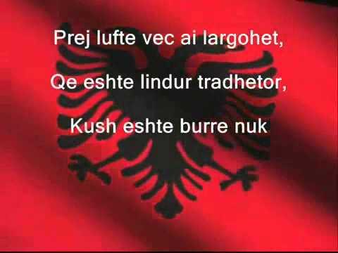 Himni Kombetar Shqiptare - Albanian