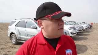 Fortuner - породистый внедорожник Toyota(Продолжаем освещать Toyota Fortuner Alatau Trophy. Сегодня в кадре редактор журнала