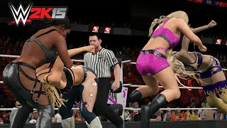WWE 2K15 PC - Every Diva performing the Pedigree