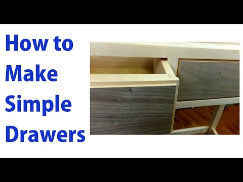 How to Make Simple Wooden Drawers - woodworkweb