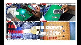 iPhone 7 Plus Dead Mobile Data Recovery  By Asia Telecom (Drop Down Case) Join iPhone Training Now