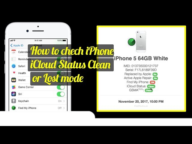 imei iPhone check for blacklist iPhone with iCloud checker