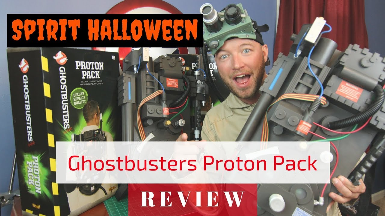 TreyTV - Spirit Halloween Proton Pack Unboxing/Review!! DON'T ...