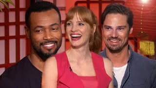 'IT Chapter Two': Jessica Chastain on What It's Like Being Covered in Fake Blood (Full Interview)